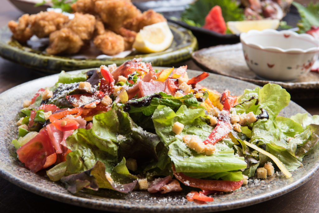 鶏一熱海本店の宴会コース 3,980円コース