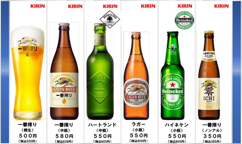 特別なひと時を KIRINビール